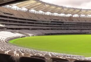 Stadium Blend lawn installation at Perth Stadium